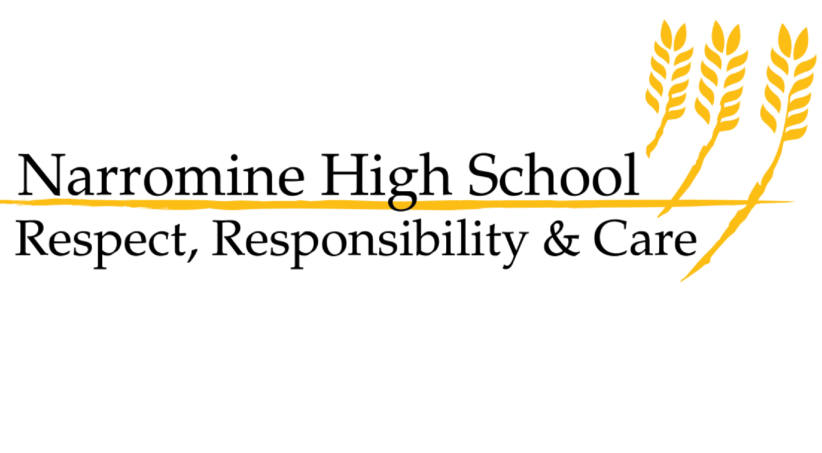 Narromine High School logo